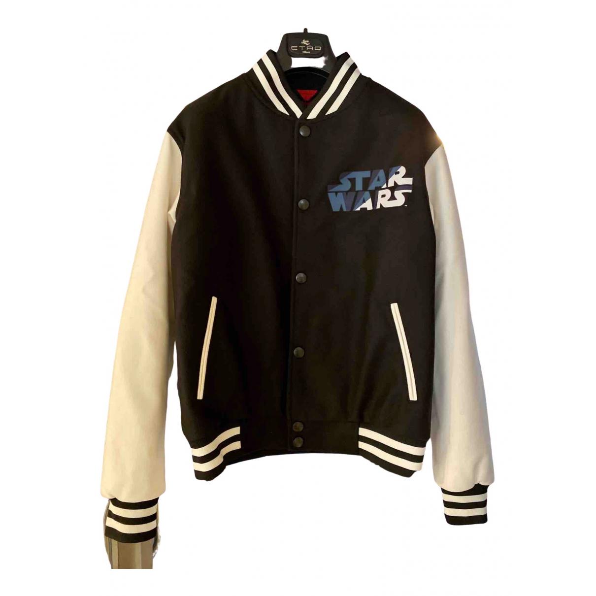 Etro \N Black Wool jacket  for Men S International