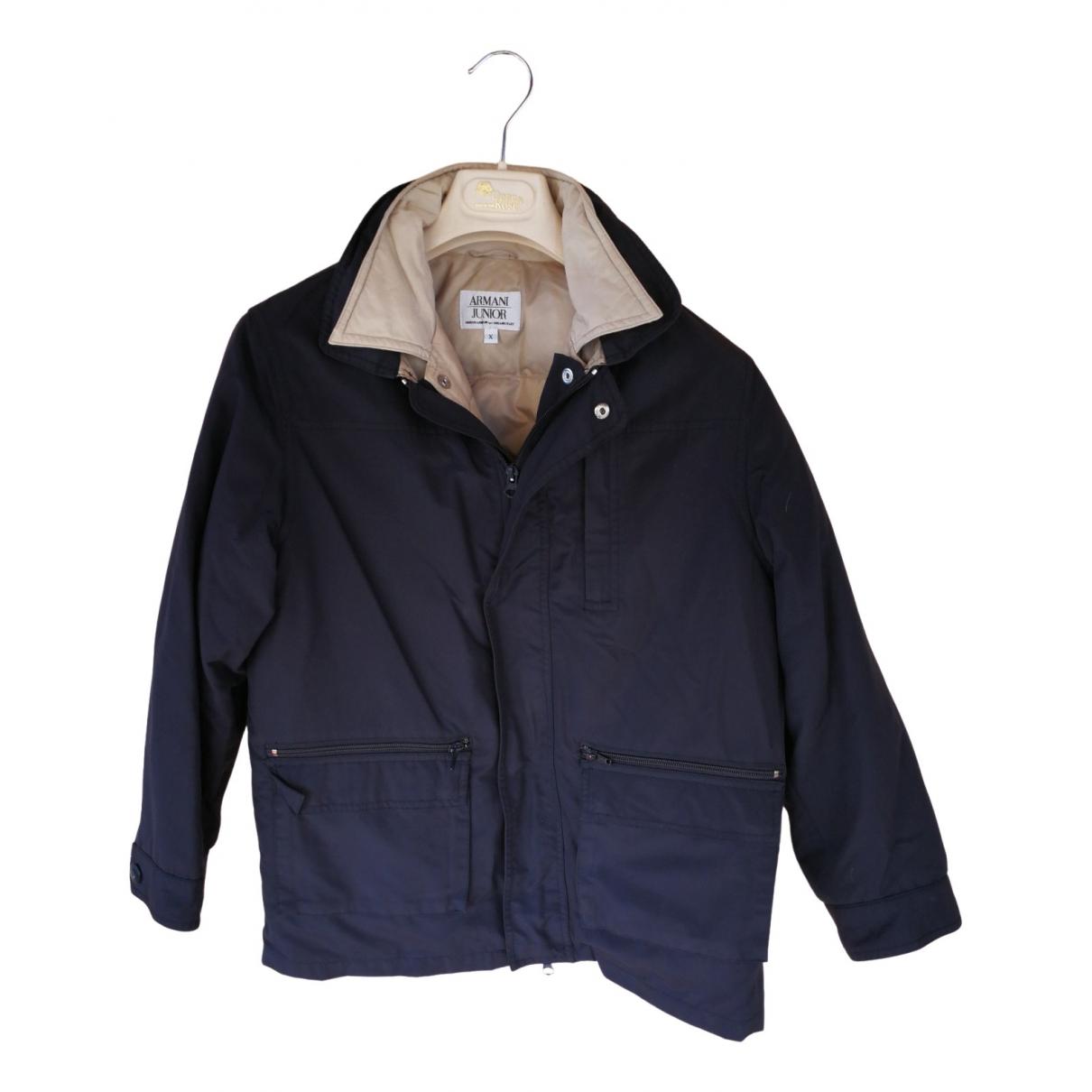 Armani Baby - Blousons.Manteaux   pour enfant - bleu