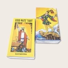 1 Box Zufaellige Tarotkarte mit Figur Grafik