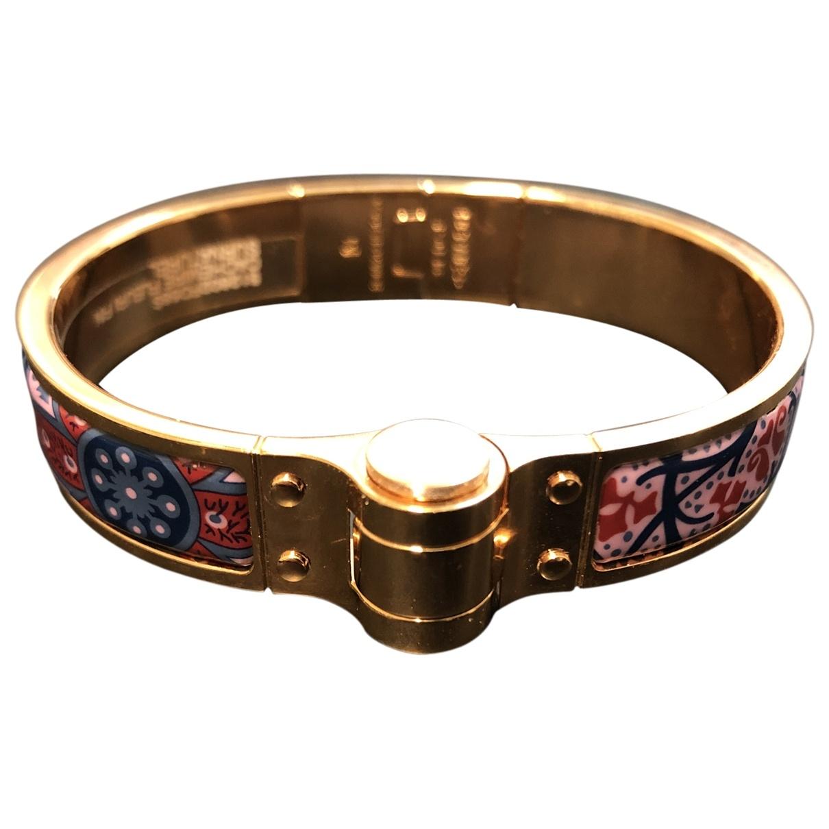 Hermes Bracelet Charniere Armband in  Bunt Metall