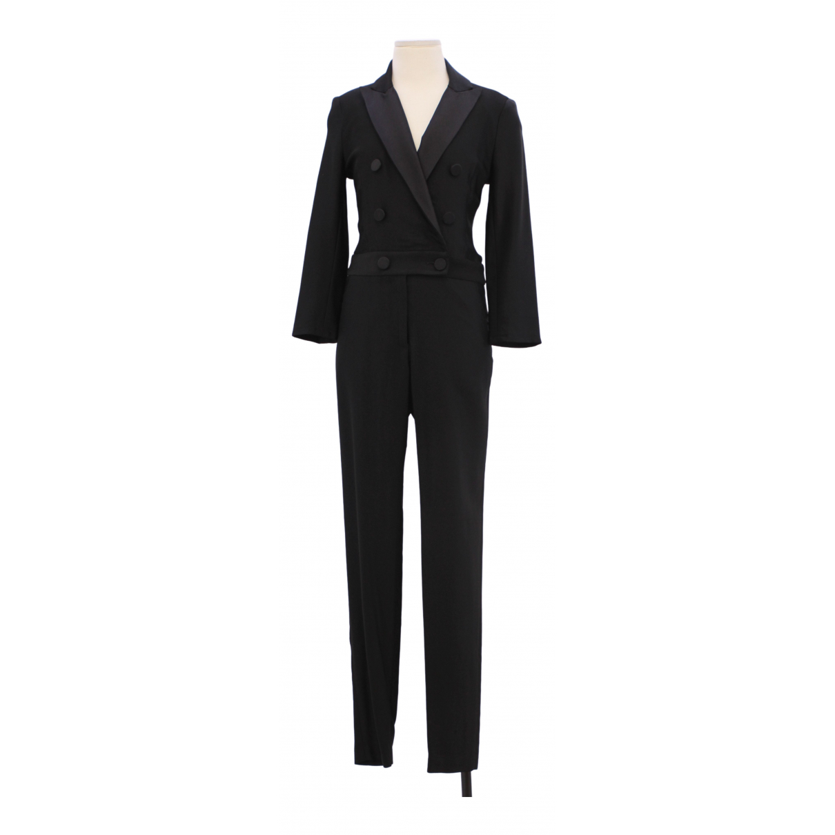 Non Signé / Unsigned \N Black jumpsuit for Women 0 0-5