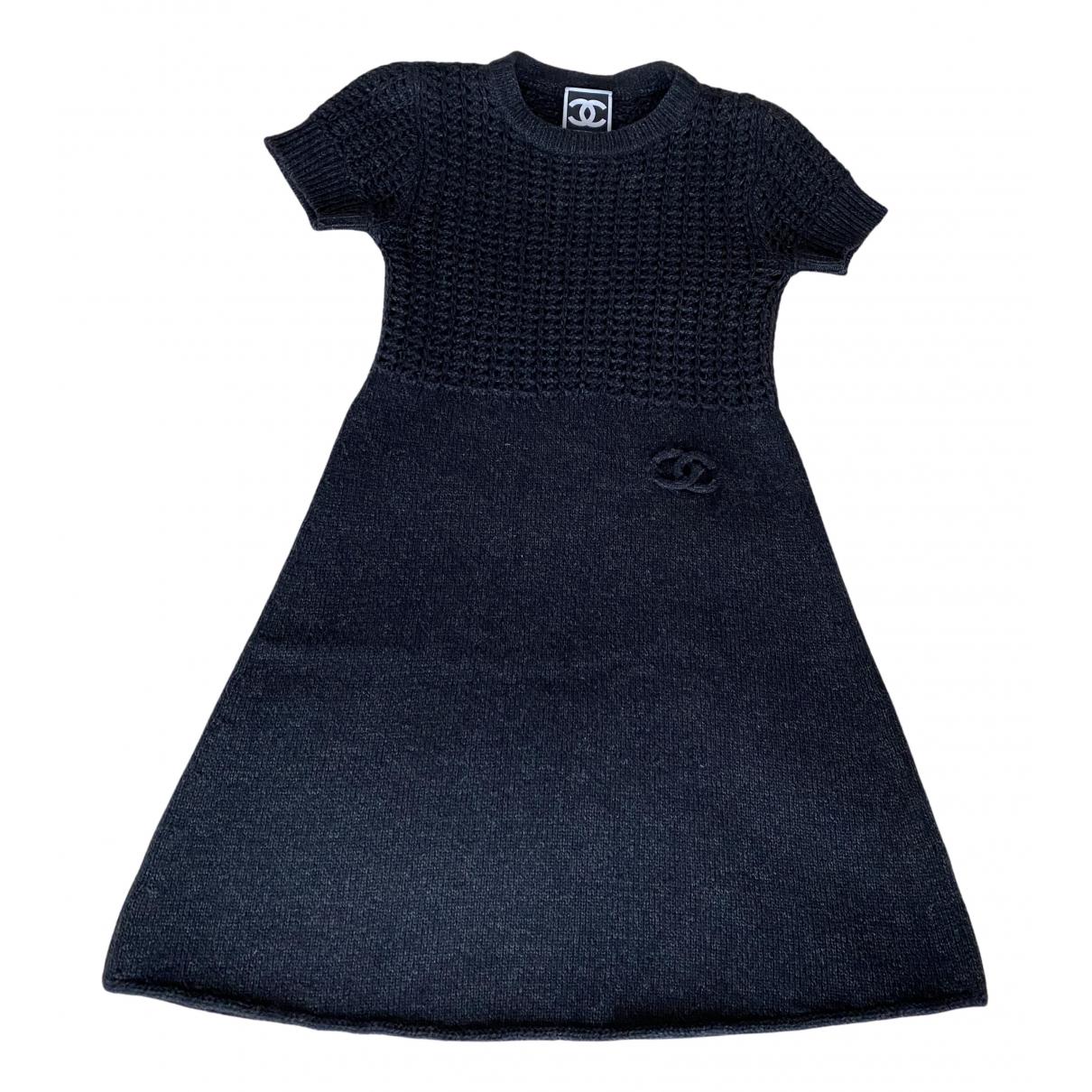 Chanel \N Kleid in  Blau Kaschmir