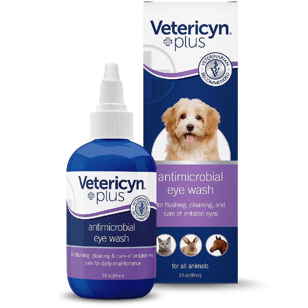 Vetericyn Plus Eye Wash for All Animals (3 oz)