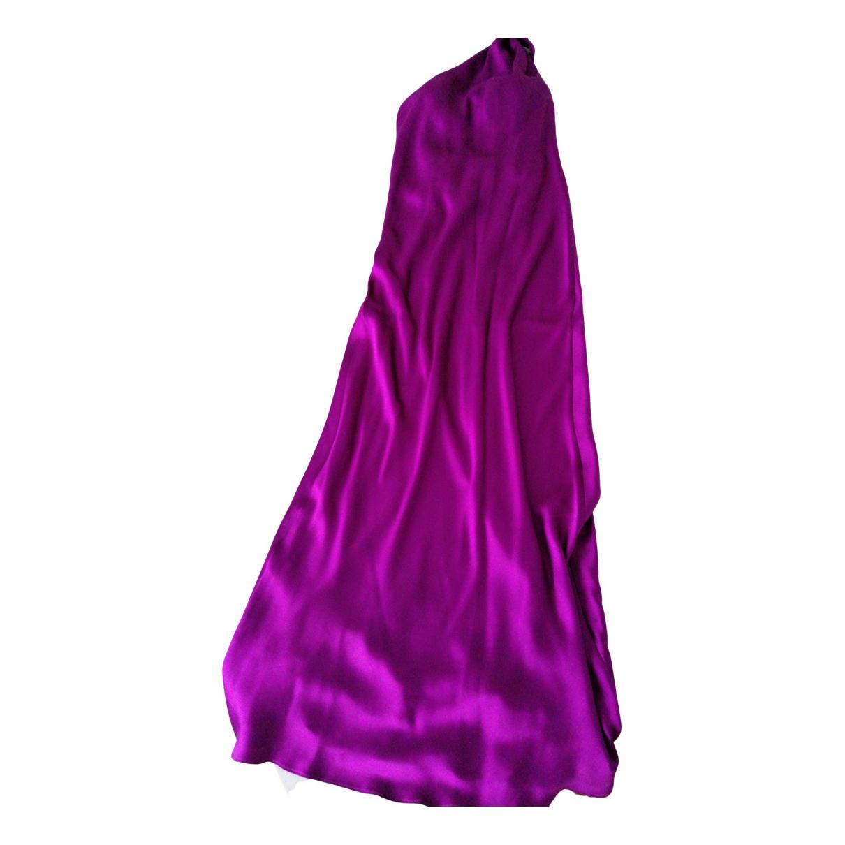 Ralph Lauren Collection \N Kleid in  Lila Seide