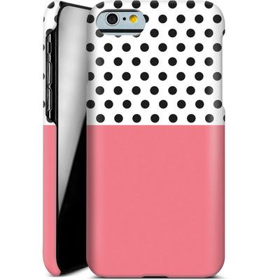 Apple iPhone 6 Smartphone Huelle - Coral Dots von caseable Designs