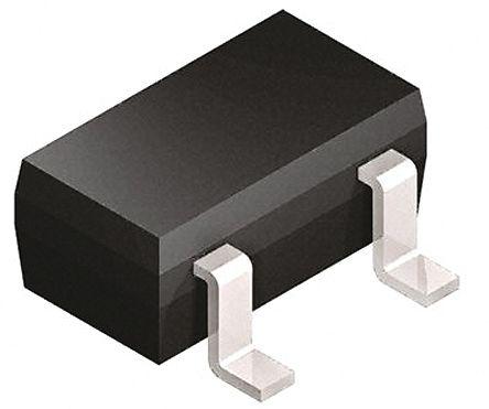 DiodesZetex Diodes Inc DRTR5V0U1SO-7, Triple-Element Uni-Directional TVS Diode Array, 0.3W, 3-Pin SOT-23 (100)