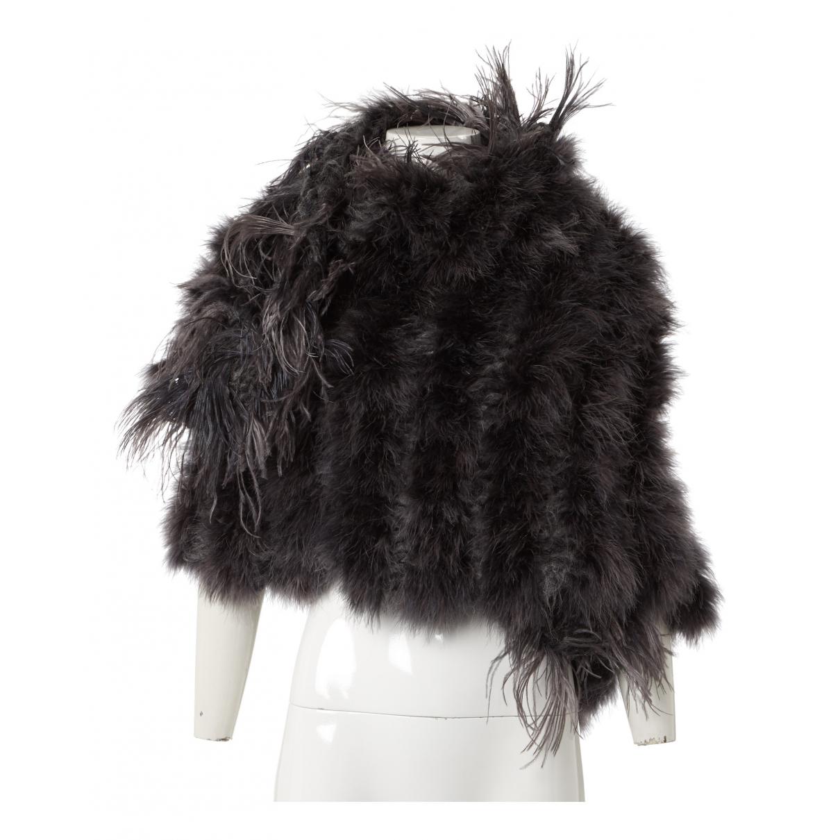 Dries Van Noten N Grey Wool scarf for Women N
