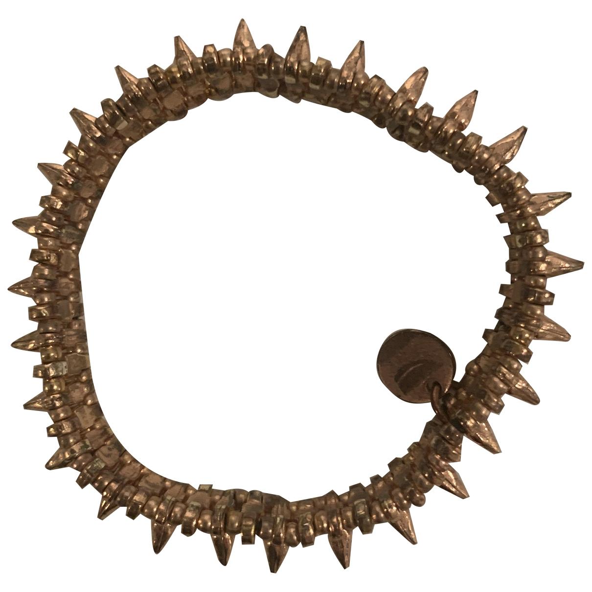Philippe Audibert - Bracelet   pour femme en plaque or - dore