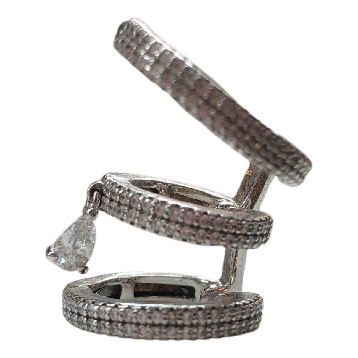 Apm Monaco \N OhrRing in  Silber Silber