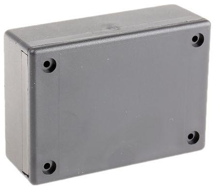 RS PRO Black ABS Enclosure, 88.9 x 63.5 x 32.39mm