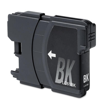 Compatible Brother LC61BK New Black Ink Cartridge - Economical Box
