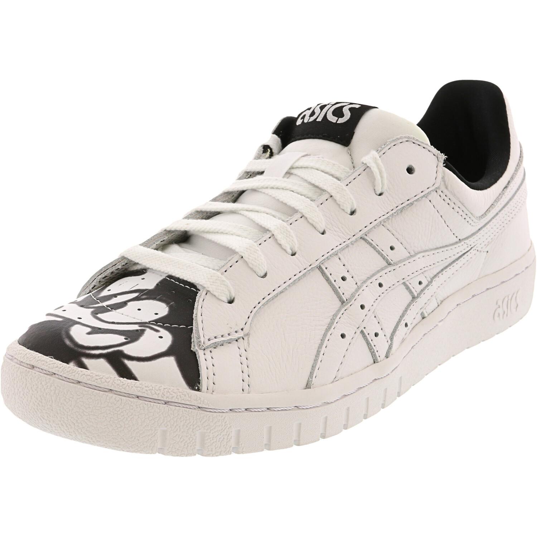 Asics Men's Gel-Ptg White / Black Ankle-High Leather Sneaker - 11.5M