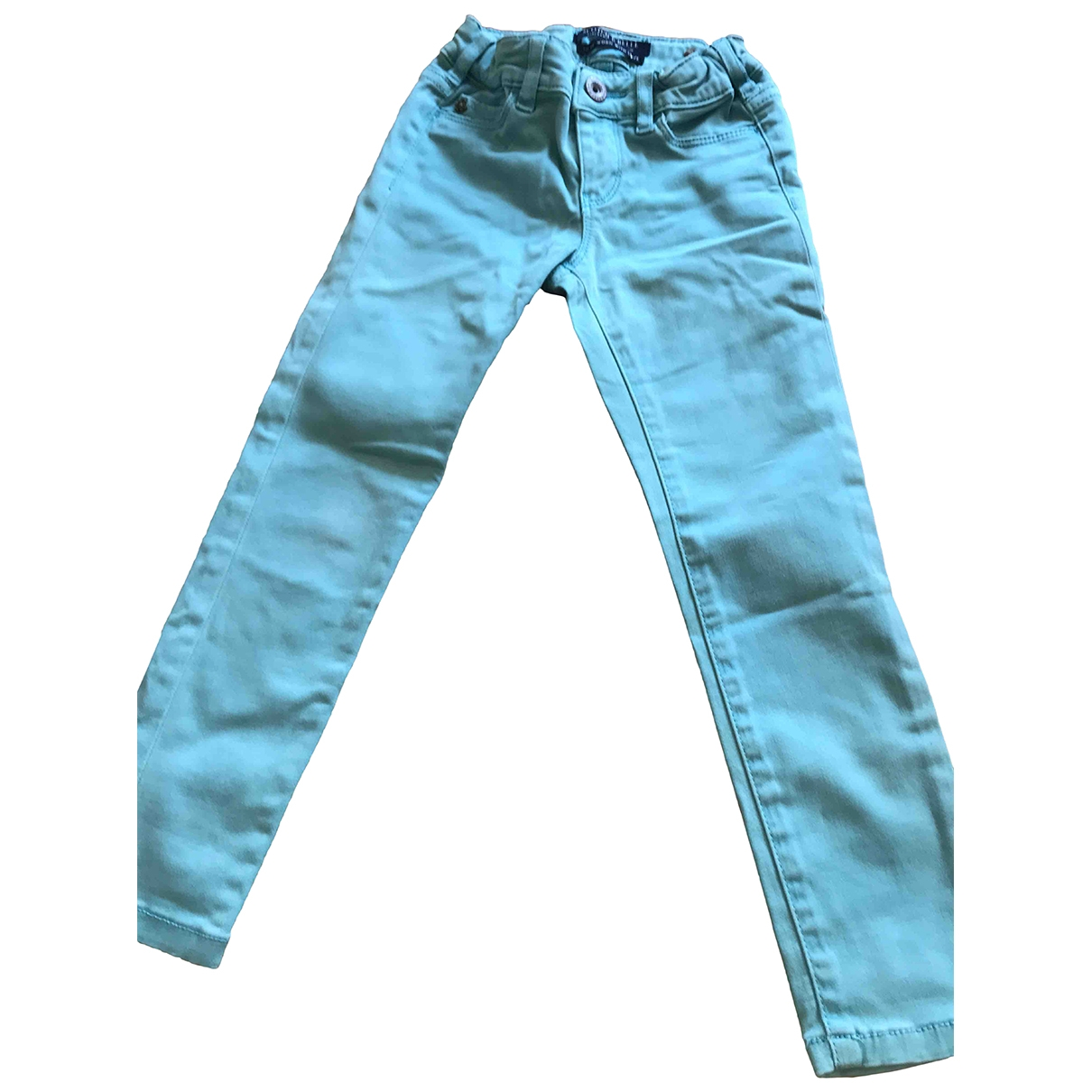 Scotch & Soda \N Green Cotton Trousers for Kids 4 years - up to 102cm FR
