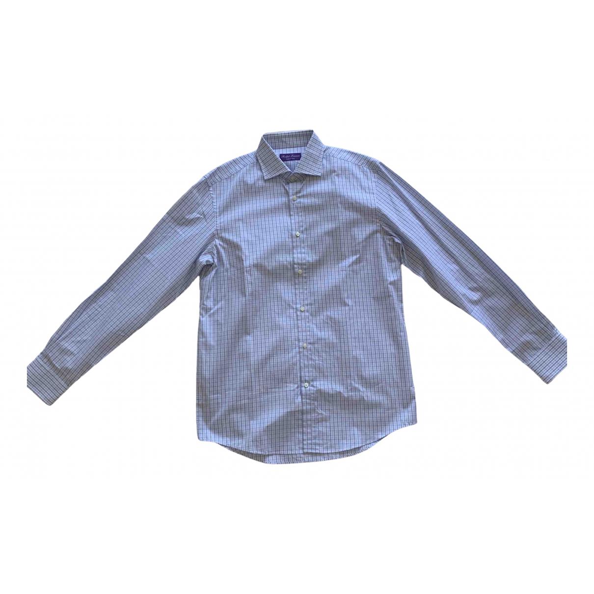 Ralph Lauren Purple Label - Chemises   pour homme en coton - blanc