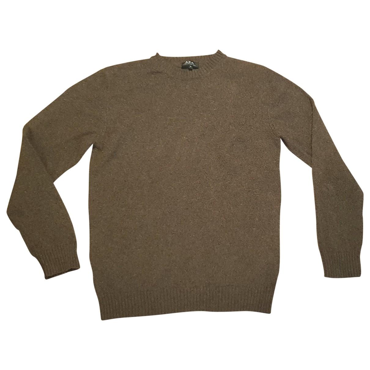 Apc \N Brown Knitwear & Sweatshirts for Men M International