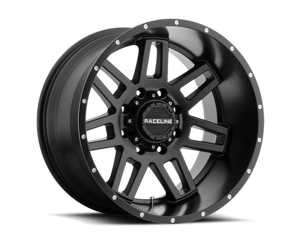 Raceline 931B Injector Satin Black Wheel 17X9 5X127|5X139.7 -12mm