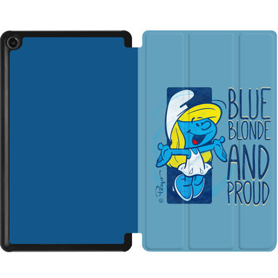 Amazon Fire 7 (2017) Tablet Smart Case - Blue, Blond and Proud von The Smurfs