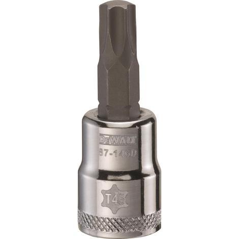 DeWalt 3/8# Drive Star Bit Socket T45