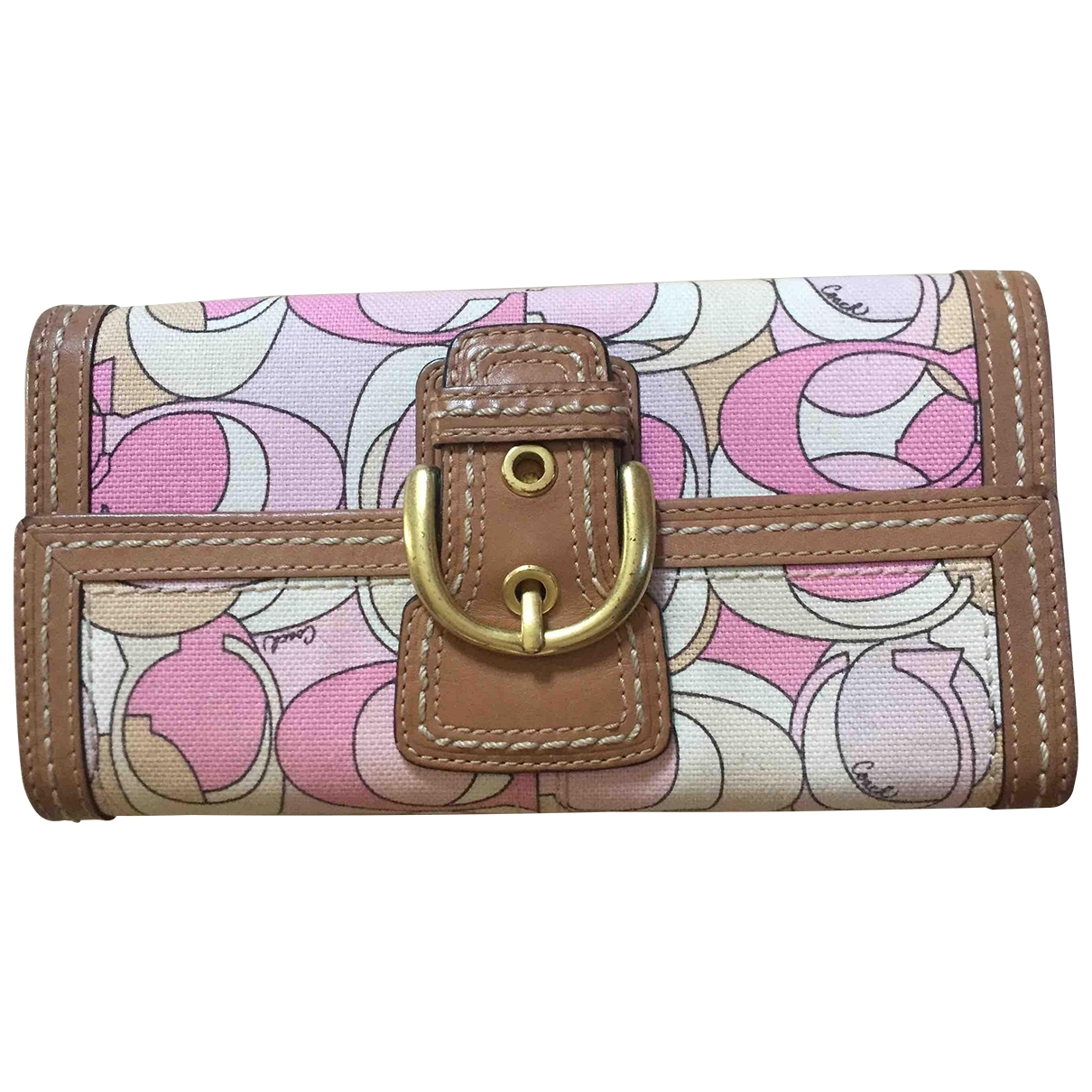 Coach \N Multicolour Cloth wallet for Women \N