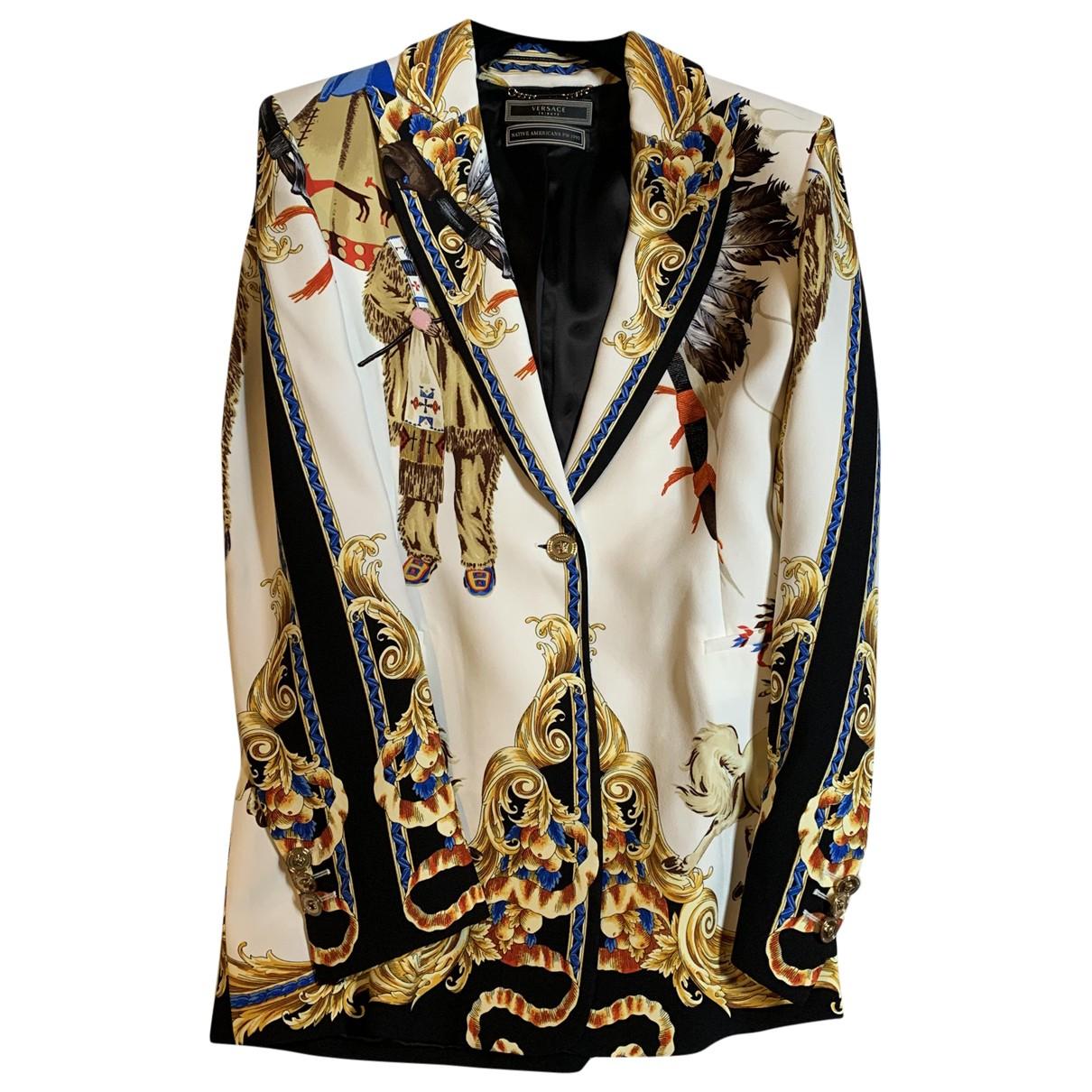 Versace - Veste   pour femme - multicolore