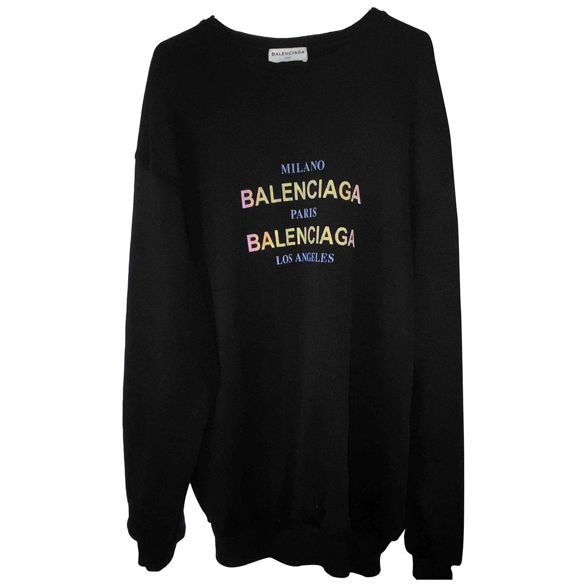 Balenciaga \N Black Cotton Knitwear for Women M International
