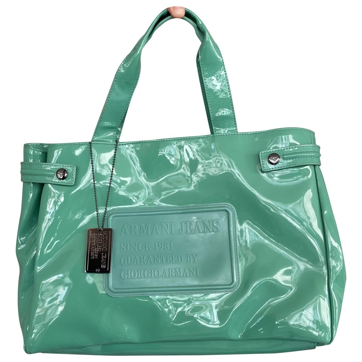 Armani Jeans \N Handtasche in  Gruen Kunststoff