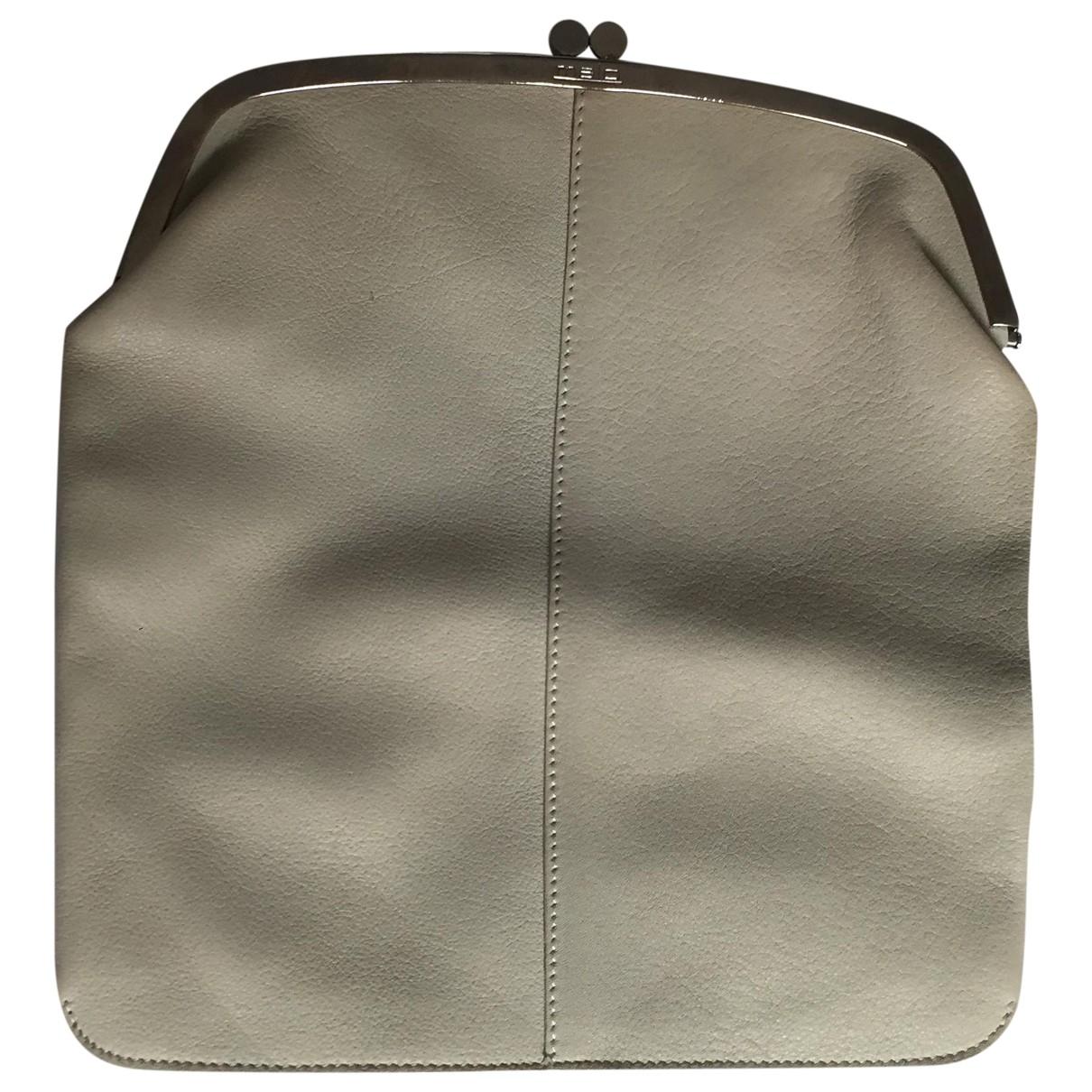 Malo \N Beige Leather Clutch bag for Women \N