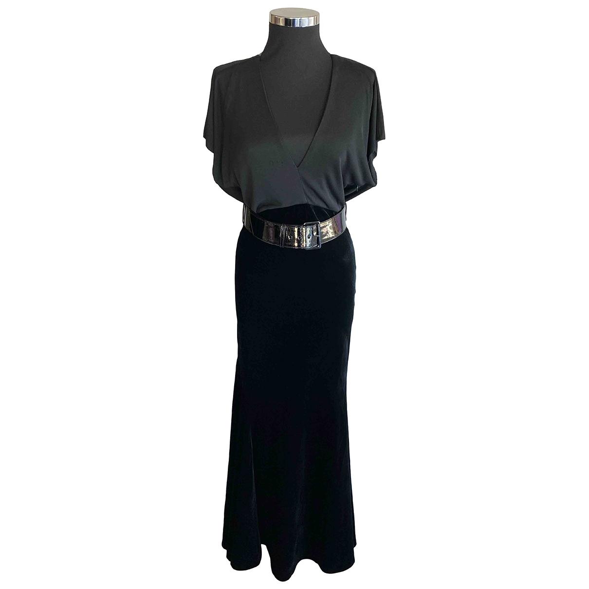 Jean Paul Gaultier - Robe   pour femme en velours - noir