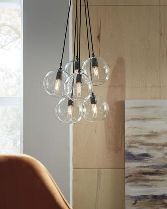 Sybil Collection L000918 Glass Pendant Light  in
