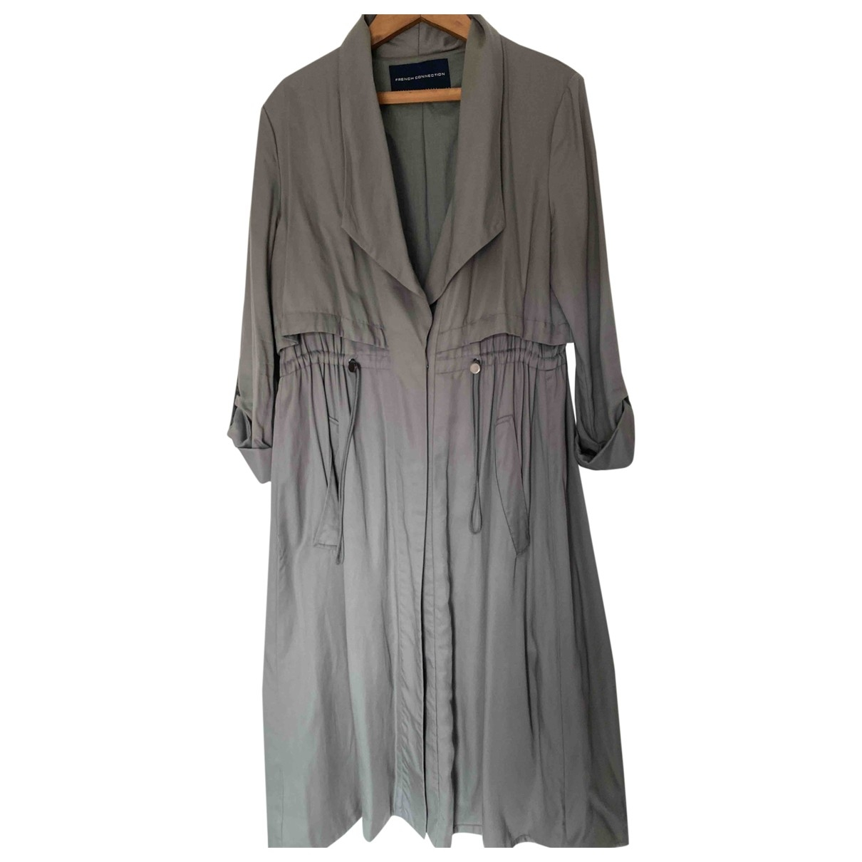 French Connection \N Grey Cotton jacket for Women 14 UK