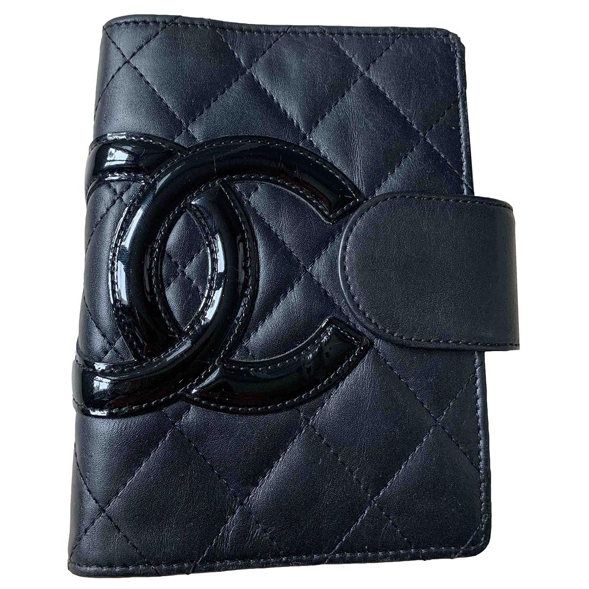 Chanel - Objets & Deco   pour lifestyle en cuir - noir