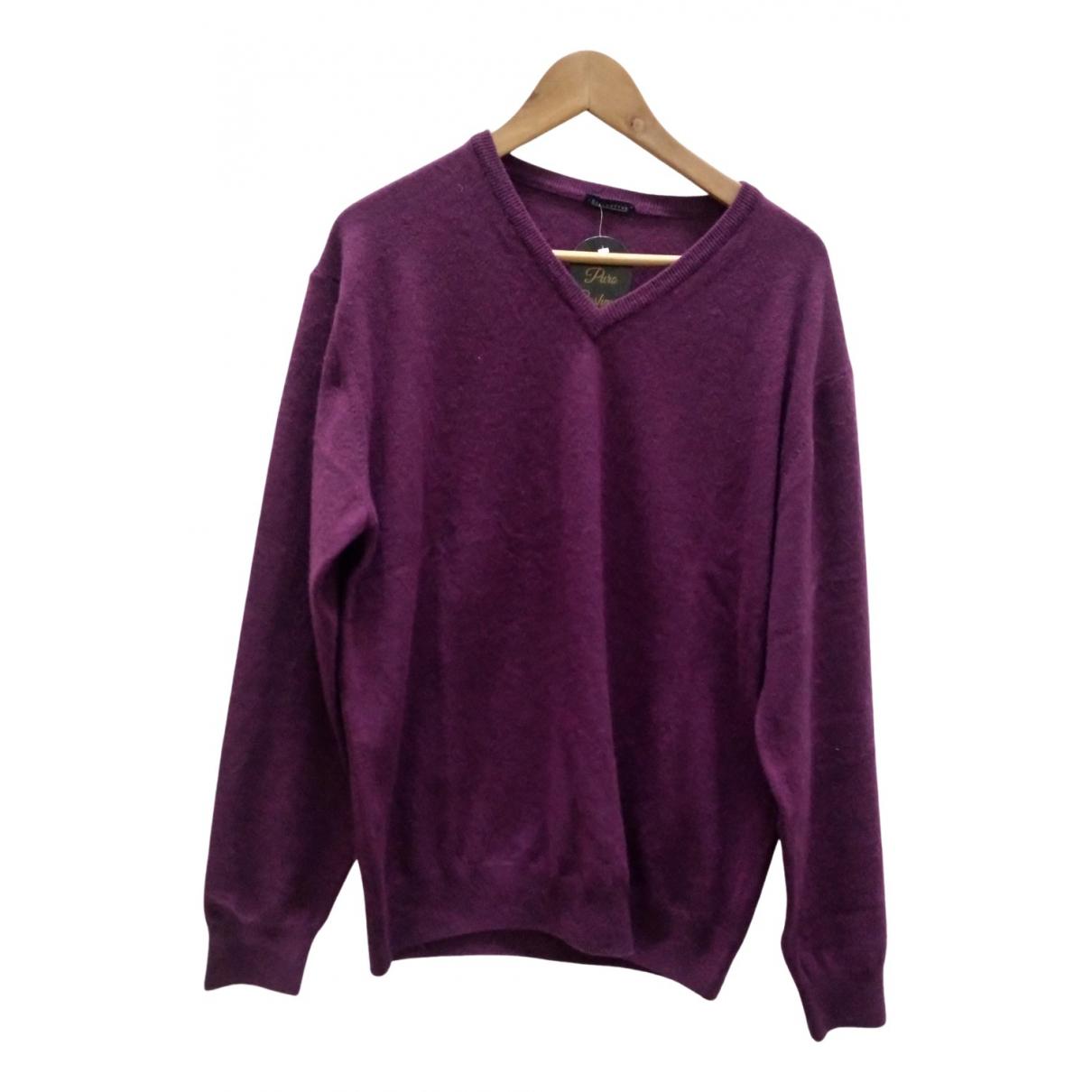 Ballantyne \N Pullover.Westen.Sweatshirts  in  Lila Kaschmir