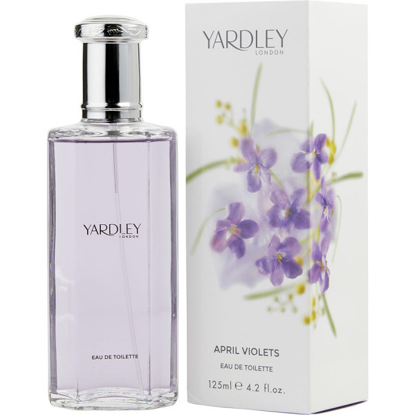 April Violets - Yardley London Eau de Toilette Spray 125 ML