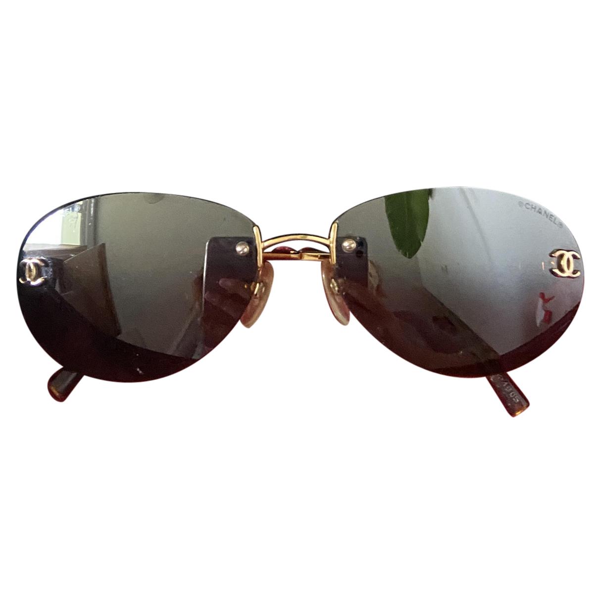 Chanel N Metal Sunglasses for Women N