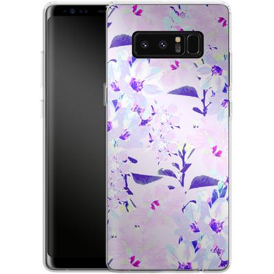 Samsung Galaxy Note 8 Silikon Handyhuelle - Hyper Garden von Zala Farah