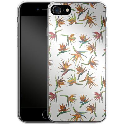 Apple iPhone 8 Silikon Handyhuelle - Paradise Flower Pattern von Kaitlyn Parker