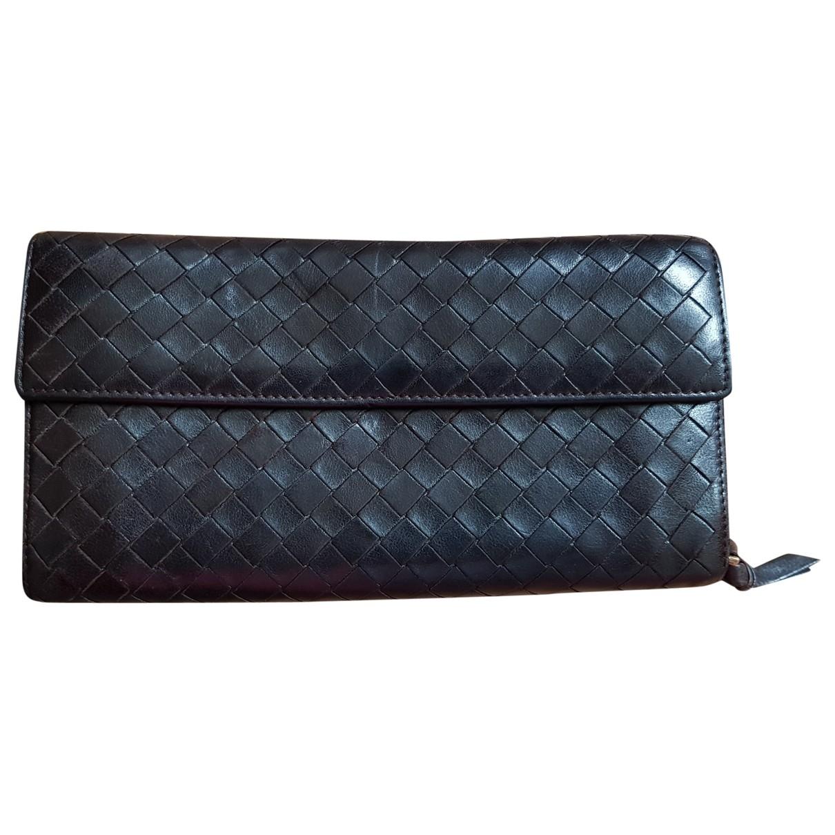 Bottega Veneta \N Brown Leather Small bag, wallet & cases for Men \N
