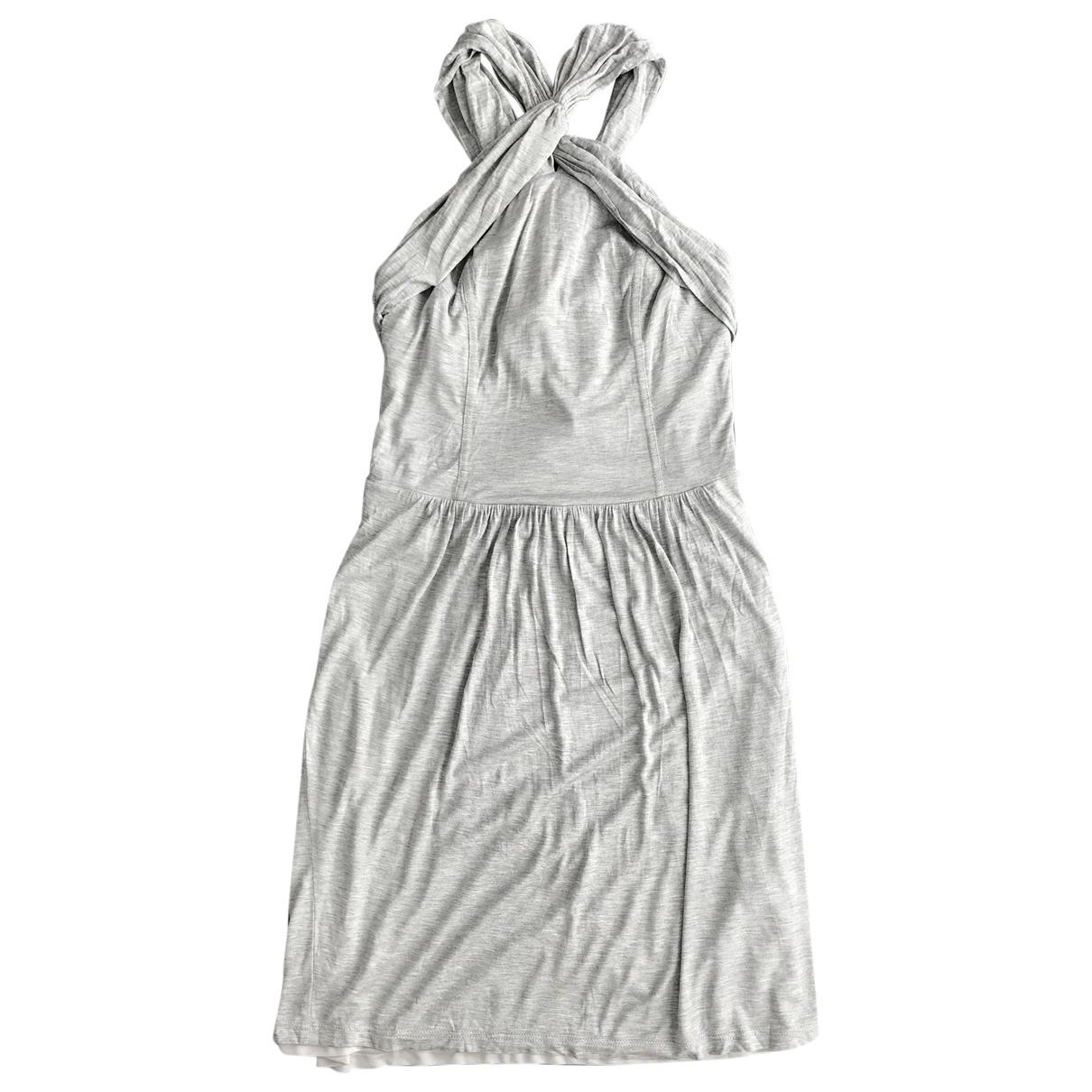 Burberry \N Kleid in  Grau Synthetik