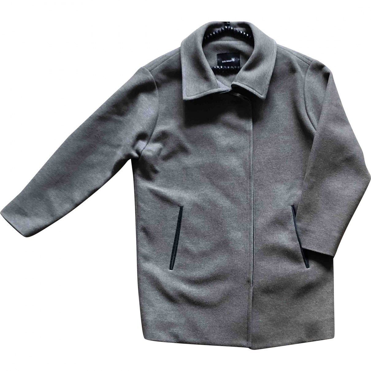Isabel Marant \N Khaki Wool coat for Women 36 FR