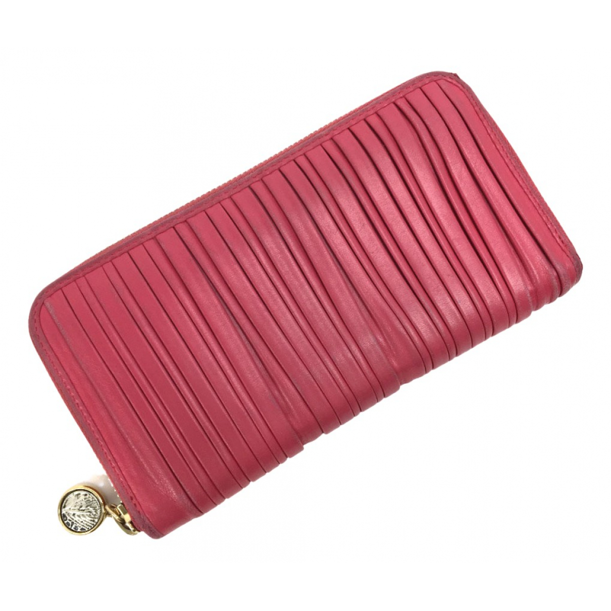 Bvlgari - Portefeuille   pour femme en cuir - rose