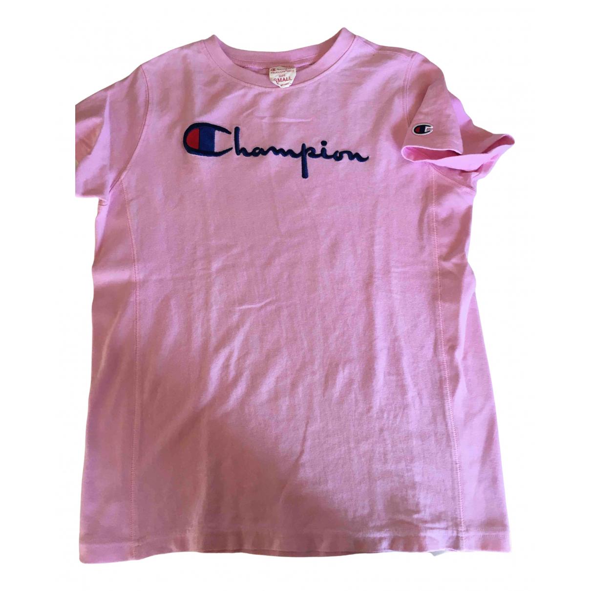 Champion - Top   pour femme en coton - rose