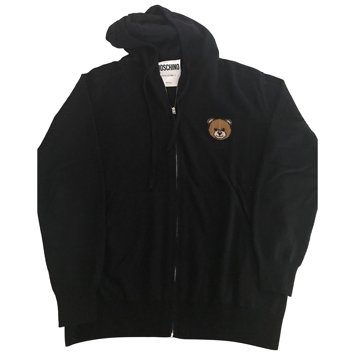 Moschino \N Pullover.Westen.Sweatshirts  in  Marine Wolle