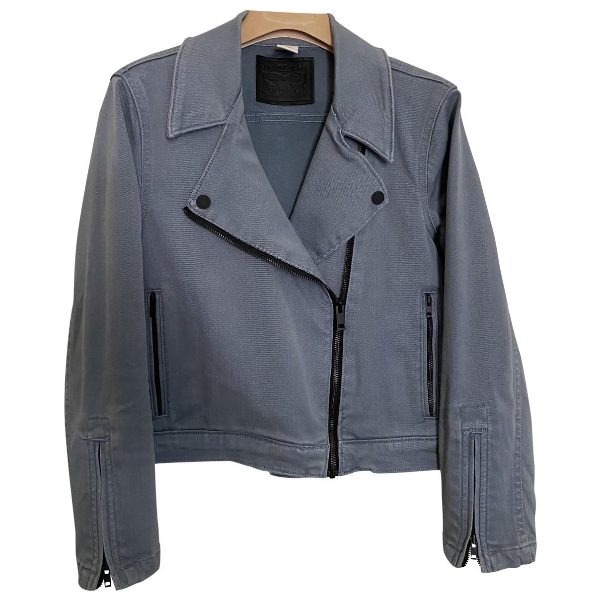 Levis \N Blue Denim - Jeans jacket for Women S International