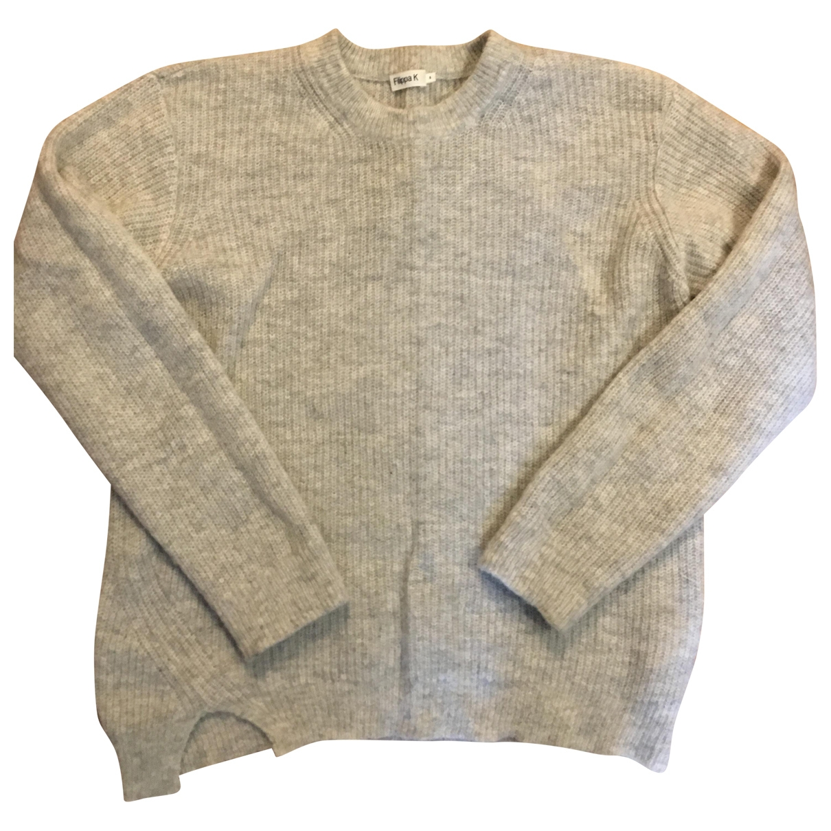 Filippa K \N Pullover in  Grau Wolle