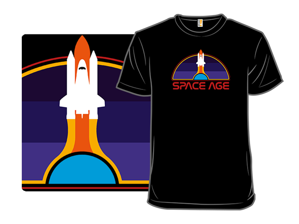 Space Age T Shirt