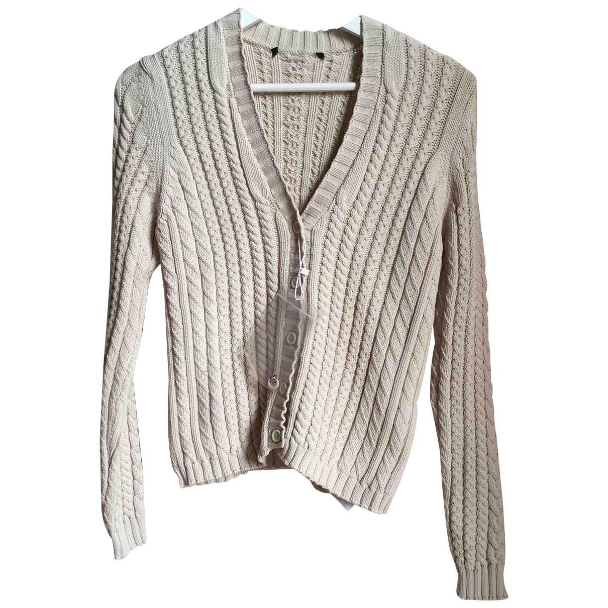 Max Mara Weekend \N Beige Cotton Knitwear for Women M International