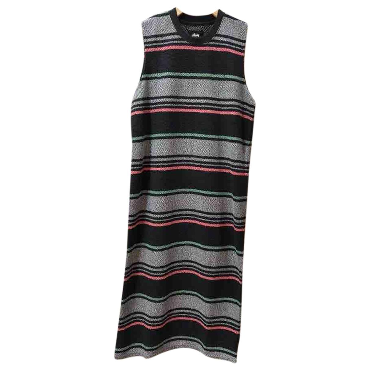 Stussy \N Kleid in  Bunt Baumwolle