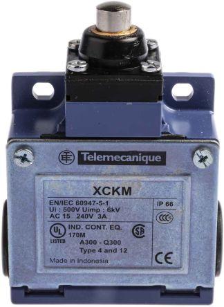 Telemecanique Sensors , Snap Action Limit Switch - Zinc Alloy, NO/NC, Plunger, 240V, IP66