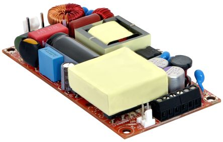 EOS , 180W Embedded Switch Mode Power Supply (SMPS), 24V dc, Open Frame, Medical Approved