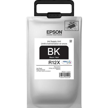 Epson R12X TR12X120 Original Durabrite Ultra Black Ink Pack High Yield